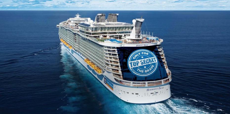Harmony of the Seas, affichera des dimensions impressionnantes: 227 000 tonneaux de jauge brute, 16 ponts passagers, 2747 cabines, 5497 passagers. Conçu comme les précédents, l'ensemble des espaces à bord sera réparti selon les quartiers de vie qui font le succès et la réputation des navires de la classe Oasis. (Crédit photo DR)