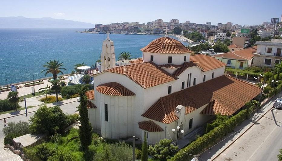 Sarande une très belle ville située au Sud de l'Albanie. © DR.