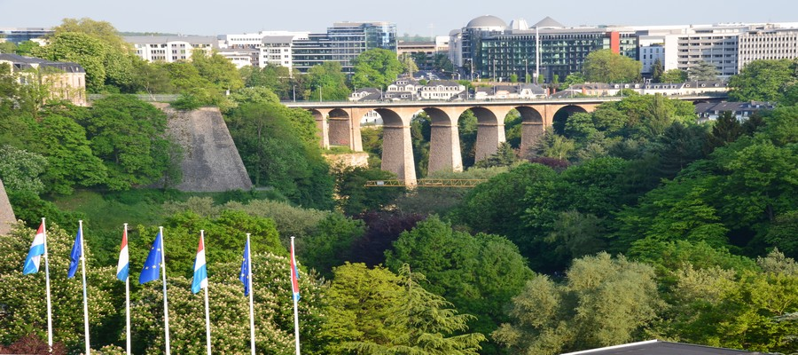 La capitale  de l'unique Grand-Duché au monde est une ville moderne fière de ses racines historiques. © David Raynal