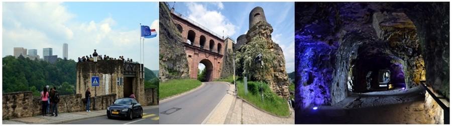 Les casemates et les 23 kilomètres de galeries souterraines creusées dans le rocher comptent parmi les plus importantes attractions de la ville. © David Raynal