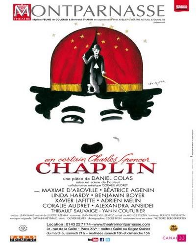 Un certain Charles Spencer Chaplin, la double épopée d'un auteur génial et de son personnage au Théâtre Montparnasse !