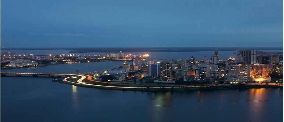 Abidjan, capitale économique de la Côte d'Ivoire. Avec la stabilité retrouvée, la Côte d'Ivoire entend renouer avec le tourisme  © DR