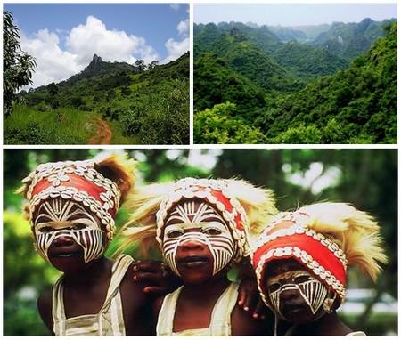Située à l'ouest de la Côte d'Ivoire, la ville de MAN est surnommée la ville aux 18 montagnes où se trouvent encore des magnifiques forêts primaires  © DR ; 2/ La Côte d'Ivoire avec ses danses, ses masques, ses tisserands Baoulé ou Yacouba, ses rites initiatiques  © OT Côte d'Ivoire