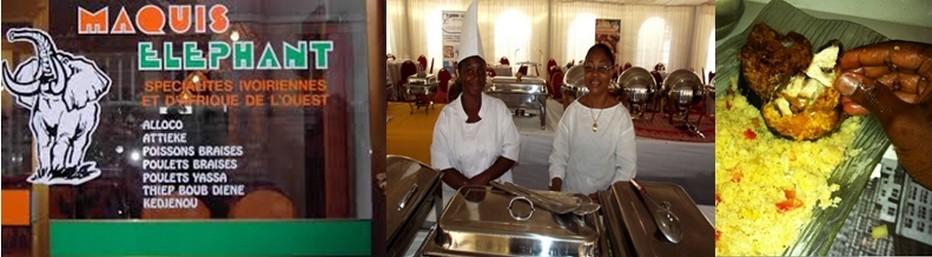 Manger du garba dans les maquis ou dans les restaurants des grands hôtels  est le plat populaire ivoirien, le garba a su s'imposer dans l'identité gastronomique ivoirienne.  © DR