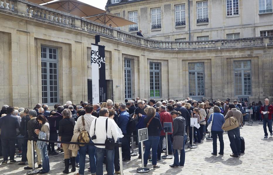 Depuis 1987, une centaine d'expositions temporaires a été organisée par le musée. La programmation culturelle décline plusieurs formules : dans l'Hôtel Salé ou « hors-les-murs », comme au Centre Pompidou et au Grand Palais pour les projets de large envergure, mais aussi ailleurs en France et au sein d'un vaste réseau institutionnel à l'étranger.