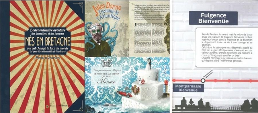 Voyager en lignes : Nés en Bretagne et en Corse ou l'extraordinaire histoire des inventions et des hommes qui ont changé la face du monde.