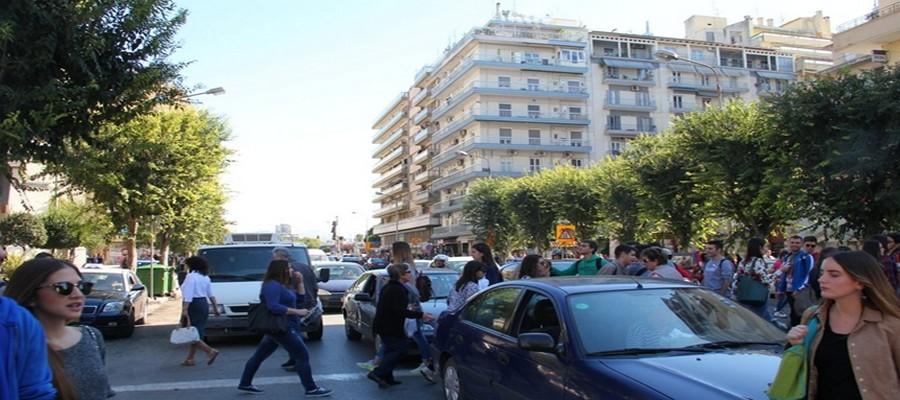 Thessalonique est une ville jeune de tous ses étudiants ©  André Degon