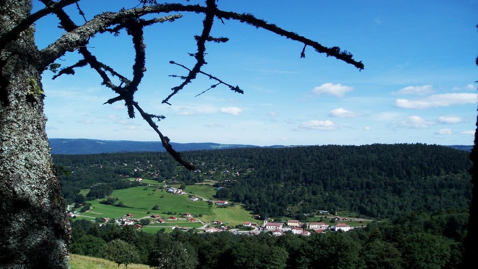 Lysiane et Pascal Demjanin ont succombé au charme des Vosges et de son massif. © Bertrand Munier