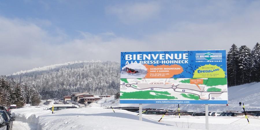 Le domaine skiable de La Bresse-Hohneck… berceau de la famille Remy. ©Bertrand Munier