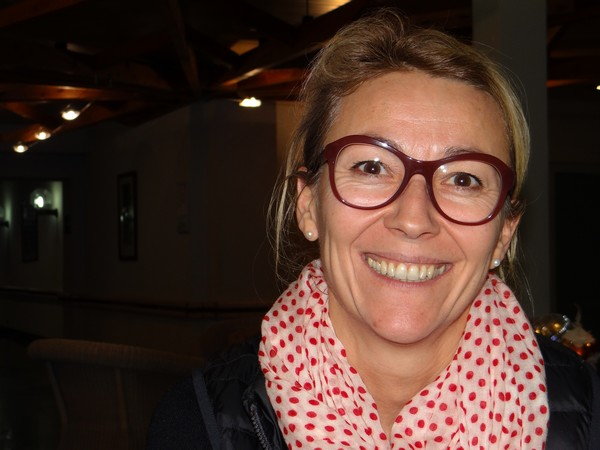 Catherine Remy : la directrice du Slalom La Bresse-Le Hohneck qui veille sur tout le secteur de l'hôtellerie, la restauration et les magasins. ©Bertrand Munier