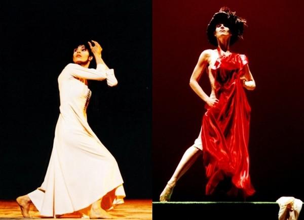 """A la tête du Ballet national de Marseille et de son école de 1998 à 2004, elle est notamment acclamée lors des ballets """"Signes"""" en 1997 et """"Don't Look Back"""" en 2000, créés par la chorégraphe Carolyn Carlson spécialement pour la danseuse. (Crédit photo : Pascal Elliott)."""