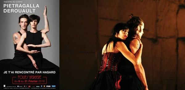 En 2016, les deux danseurs et chorégraphes présenteront leur nouvelle création Je t'ai rencontré par hasard aux Folies Bergère à partir du 9 février, avant une tournée dans toute la France. (Crédit photo : Pascal Elliott)