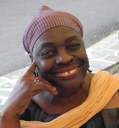 Le portrait magnifique  de cette grande danseuse, née en 1945 en Jamaïque d'un père originaire du Kenya et d'une mère métisse panaméenne.© Didier Pruvot