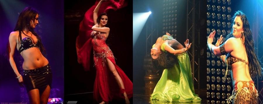 En Égypte, trois formes principales de la danse traditionnelle sont associées à la danse orientale : la danse populaire, la danse classique et la danse de cabaret. (Crédit photos D.R.).