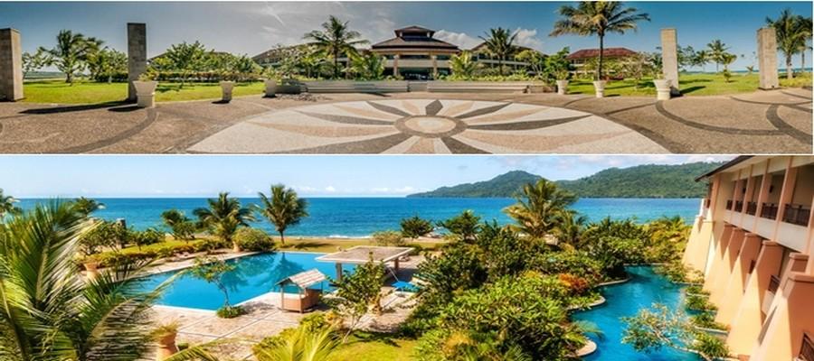 The Natsepa Hotel. Sans aucun doute le meilleur établissement de l'île. Beau, Confortable et Gourmet. © The Natsepa Hotel