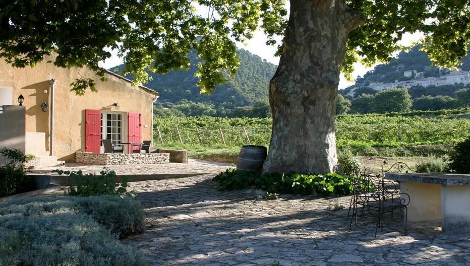 L'Appellation d'Origine Contrôlée RASTEAU est un Cru des Côtes du Rhône classé AOC depuis 2010, qui produit 96% de vins rouges et 4% de VDN, les fameux vins doux naturels. Des vins directement issus et produits depuis les paysages du Nord Vaucluse, qui fleurent déjà bon la Provence. Copyright Office de Tourisme Rasteau