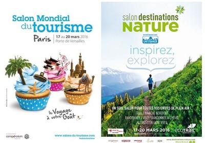 La 41ème édition du Salon Mondial du Tourisme côte à côte avec le Salon Destination Nature.