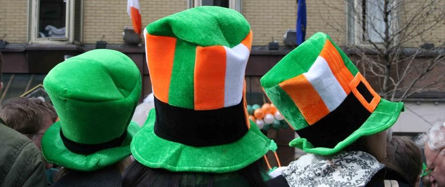 """Haute en couleur """"verte"""" la grande parade de la Saint-Patrick à Dublin (Irlande)  © www.ireland.com"""