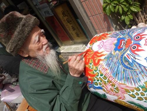 Lukang Maître Wu Dun Hou à Lukang   © Catherine Gary