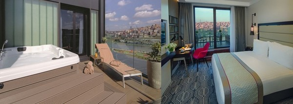 Un boutique hôtel qui est un condensé de ce que l'âme d'Istanbul sait offrir à tout moment . © Mövenpick Golden Horn