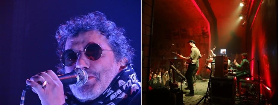 Rachid Taha enflamma dernièrement « Chez Narcisse ». ©Bertrand Munier ; ) Six concerts sont programmés chaque année d'octobre à mai. ©Bertrand Munier