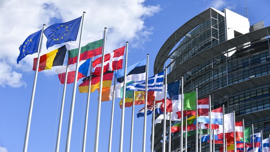 Le Parlement Européen à Strasbourg. Copyright DR