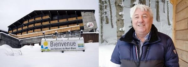 Pascal Yffernet est depuis décembre 2015 le directeur du village Balcons du Mont-Blanc. © David Raynal