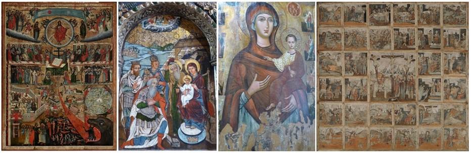 Toujours à Sanok, voici un autre incontournable :  l'une des plus belles collections de peintures et d'icônes orthodoxes actuelles.  © Catherine Gary