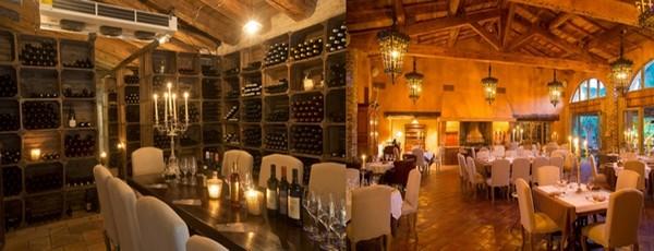 La cave du domaine de Murtoli compte quelque 2000 bouteilles. Crédit photo Camille Moirenc.