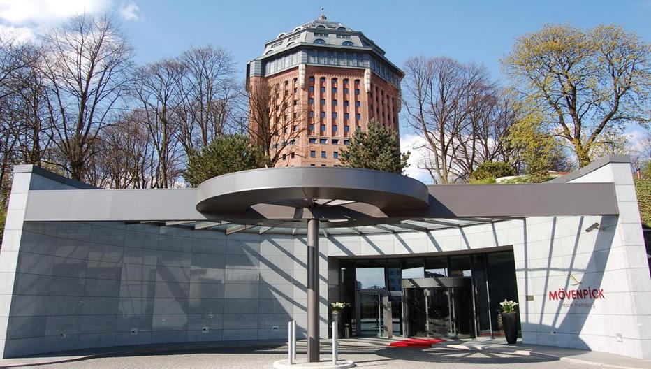 Le Mövenpick  Wasserturm de Hambourg ! Un superbe exemple de réhabilitation architecturale !  Hier un château d'eau, aujourd'hui  un hôtel à l'architecture unique.  ©