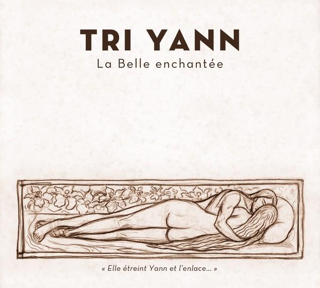 """Couverture du dernier album de Tri Yann """"La Belle Enchantée""""."""