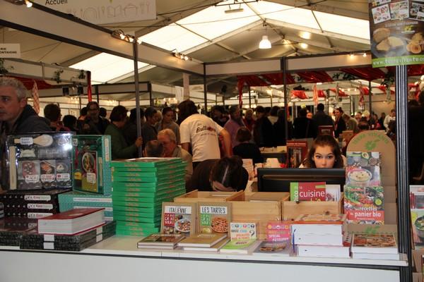 La cité gourmande de Périgueux accueille du 25 au 27 novembre 2016, la 14ème édition du Salon International du Livre Gourmand (SILG). © SILG
