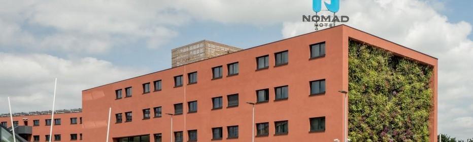 Le NOMAD Hotel Paris Roissy CDG Aéroport est  reconnu par l'ADEME comme bâtiment à énergie passive. C'est le 1er hôtel labellisé BEPAS en France. Il répond aux critères exigeants de la règlementation thermique qui impose une consommation en énergie maximale de 50kW/h/m2 par an.  © Nomad-Hôtels