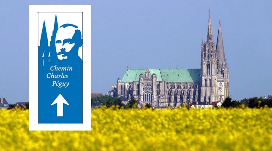 Dans les pas de Charles Péguy, un récit de voyage qui vous invite à parcourir 100 kilomètres à pied, entre la maison de Charles Péguy à Palaiseau et la cathédrale de Chartres.   © O.T.ville de Chartres