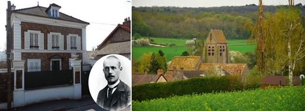 De gauche à droite : Maison du quartier de La Lozère à Palaiseau dans la Vallée de Chevreuse au bout du RER et qui va jusqu'à Chartres en passant par l'église Saint-Martin dans le  vieux pays de Le Hurepoix.   © P.Y Le Priol