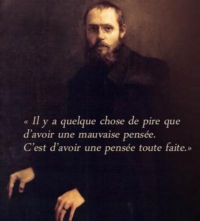 Charles Peguy, selon Pierre-Yves Le Priol est un homme qui arrive de l'extrême gauche, qui a été déçu par la gauche et qui cherche une cohérence dans sa pensée quelque part dans un grand centre.   © DR