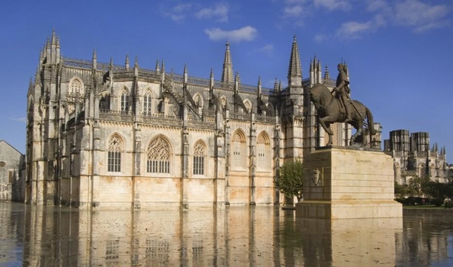 Bathala est sans doute le plus beau monument du Portugal.  © O.T. Portugal