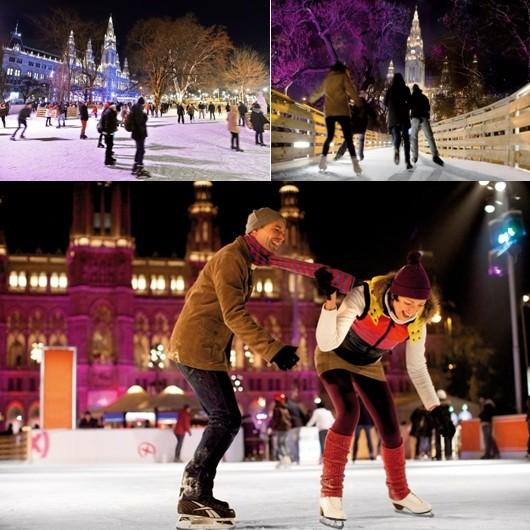 Les plaisirs de la glace à Vienne , l'une des villes les plus agréables à vivre au monde © O.T. Vienne