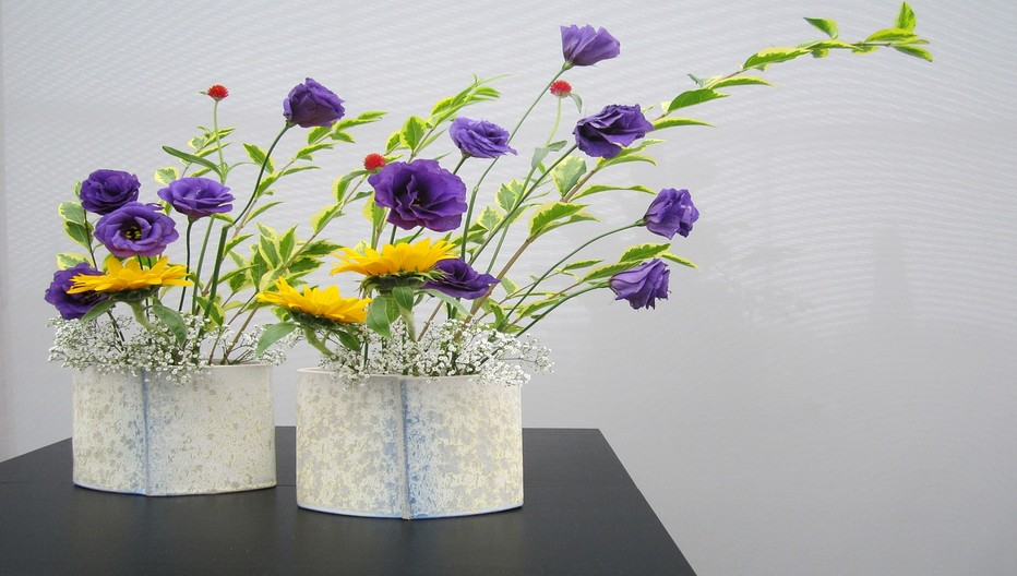 Arrangement floral Ikebana.  © Lindigomag/Pixabay
