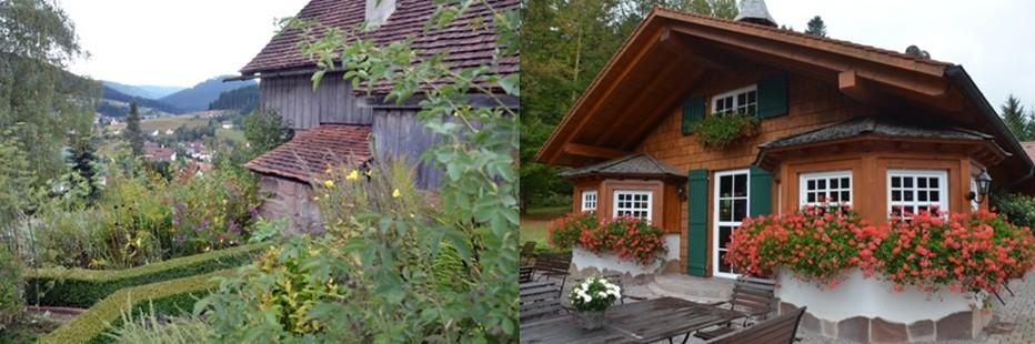 La ferme Morlokhof (à gauche) aujourd'hui propriété du Bareiss abritait autrefois une famille de guérisseurs. © David Raynal