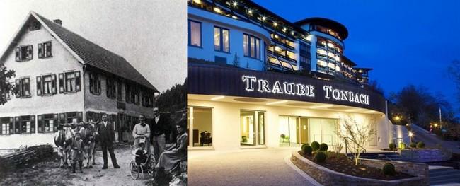 L'histoire de l'hôtel commence il y a plus de deux siècles, quand la famille Finkbeiner s'installe dans cette vallée brumeuse de Tonbach Aujourd'hui, l'auberge est devenue un hôtel de luxe tenu par Heiner Finkbeiner le propriétaire, sa femme Renate et leurs enfants Matthias, Sebastian et Antonia. ©www.baiersbronn.de