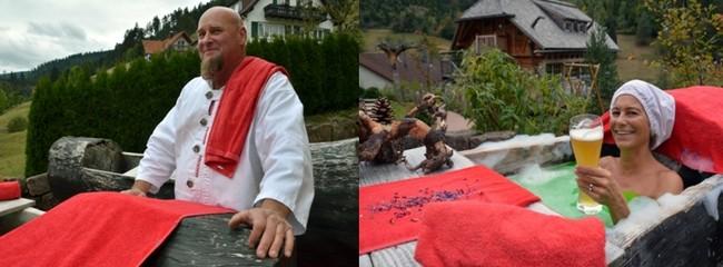 Le bain des moines se prend sous la surveillance de Reinhard Bosch, une référence dans son domaine. © David Raynal