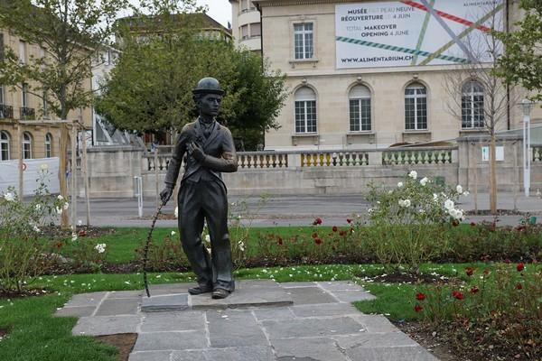 A Corsier-sur-Vevey, Chaplin est de retour !  © Lindigomag/Pixabay