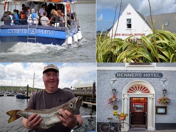 Dingle est aussi un bastion de la culture gaélique. Plus précisément du Gaeltacht, la région de l'Irlande de l'Ouest où l'on parle toujours quotidiennement la langue des Celtes. © David Raynal et © Brenner Hôtel