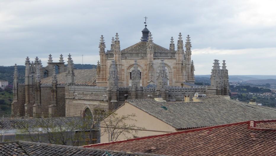 Le riche monastère gothique de San Juan de los Reyes © Catherine Gary