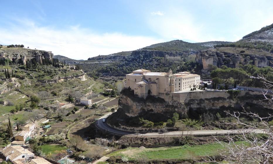 Vue d'hôtel à Cuenca © Catherine Gary
