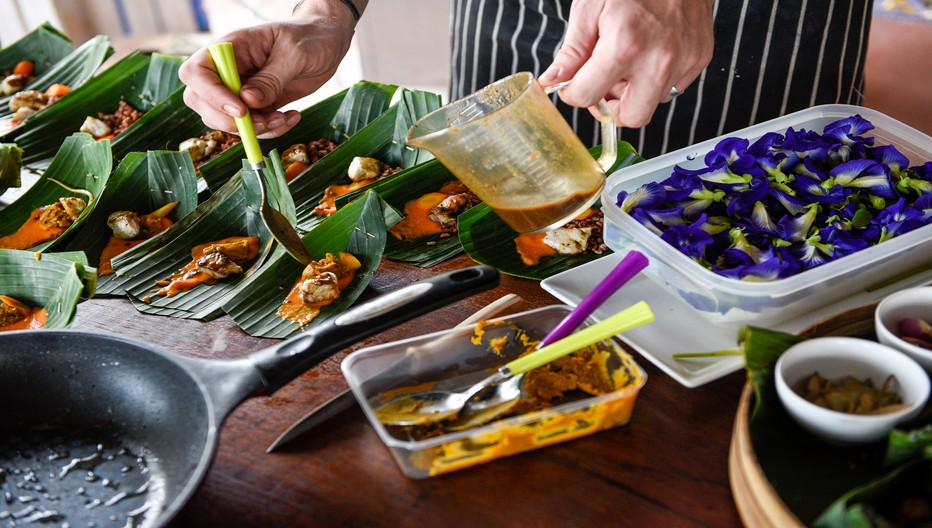 Le festival de la gastronomie d'Ubud sur l'île de Bali met  entre autre  à l'honneur l'extraordinaire variété de la cuisine indonésienne et ses produits locaux.  © www.Ubudfoodfestival.com