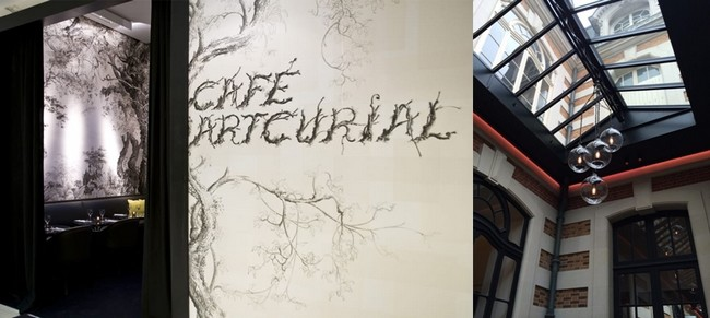 L'entrée du Café Artcurial... et sa magnifique verrière. © www.cafeartcurial.fr