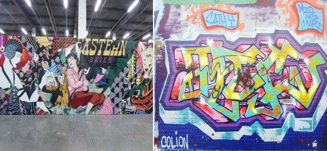 """L'exposition """"Street Generation(s), 40 ans d'art urbain"""" conçue par la commissaire d'expo Magda Danysz donne à réfléchir...   ©  Street Generation(s) O.T. Roubaix"""