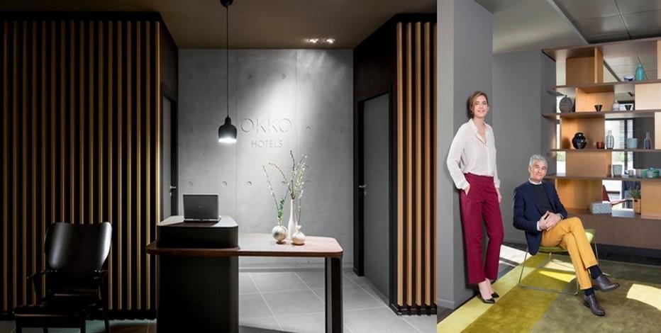 Une nouvelle chaîne hôtelière créée par un professionnel du secteur Olivier Devys et sa fille Solenne. © Photos Okko Hôtels et ©  Yannick Larousse